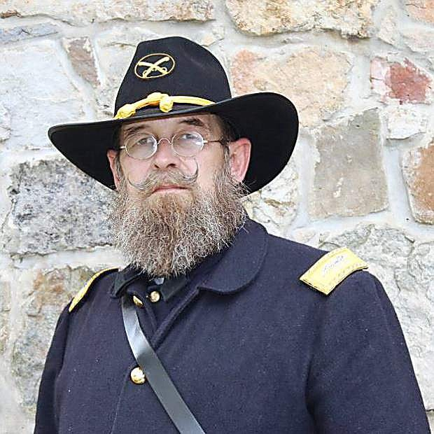 Sgt. Major Bryan Staples is the star of Gold Hill Hotel's next Thursday Night Presentation on June 9.