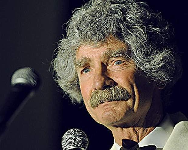 McAvoy Layne as Mark Twain.