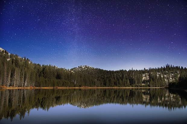 At an elevation of 7,000 feet, Spooner Lake is the setting of a stargazing event with Gigi Giles on Friday.