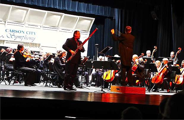 Carson City Symphony in concert at the Carson City Community Center.