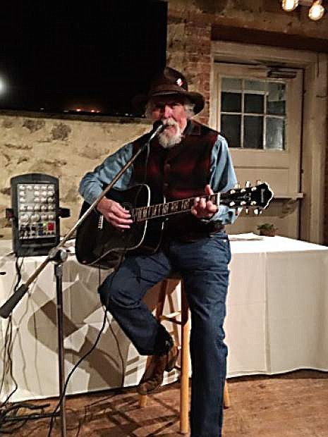 Tom Zachry performs at the Gold Hill Hotel on June 2.
