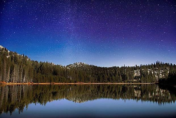 A guided tour of the night sky is planned at Spooner Lake State Park, just north of Highway 50 on State Route 28.