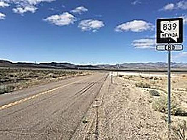 Sate Route 839 between U.S.Highway 50 and the Denton-Rawhide Mine will be closed for a week because of flood damage.