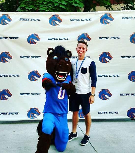 Brandon Miller, a 2016 Virginia City High School grad, is a junior at Boise State University.