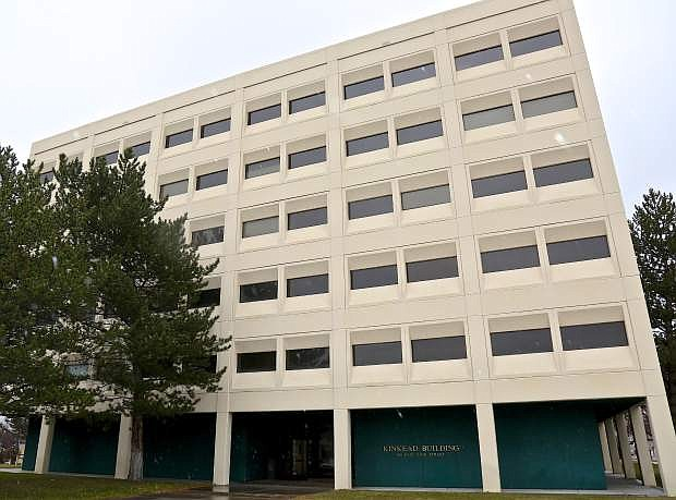 The Kinkead Builiding, 505 E. King St., is being considered for demolition by the Nevada Legislature.