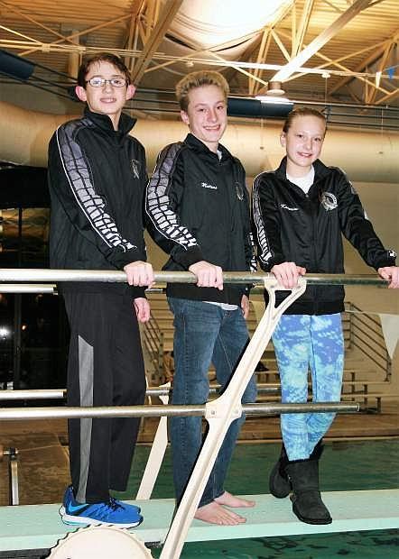 Nick Melsheimer, Matthew Klatt, Katarina Klatt.