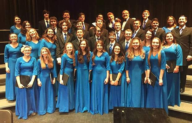 The Carson High School Concert Choir is raising donations to help defray costs of traveling to the Festival of gold in Los Angeles, Calif.