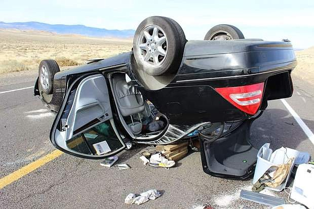 A three-vehcile crash in December killed a Silver Springs man. The driver who caused the crash was sentenced Monday to 6-20 years in the Nevada State Prison.