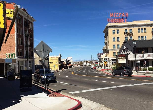 Historic Tonopah is a good halfway point between Fallon and Las Vegas.