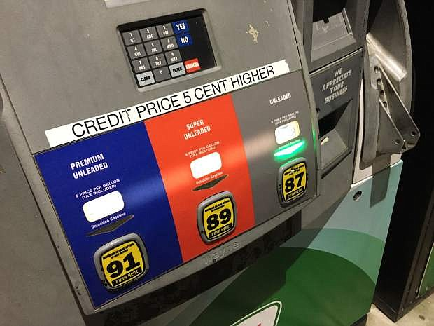 Gas prices continue to inch up in Nevada reports gasbuddy.com.