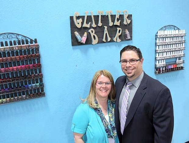 Anthony and Brandy Gayner are the owners of the new Sierra Academy of Style located on Roop Street.