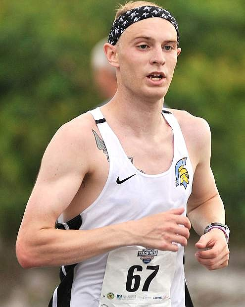Former Fallon track athlete Tanner Boone placed third in the NAIA Outdoor Track & Field Championships.