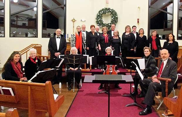 Consort Canzona in concert in December 2016.