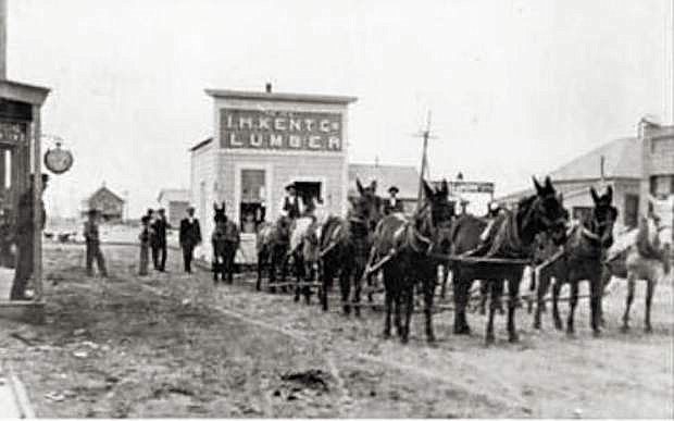 The first Kent's store relocated from Stillwater to Fallon in 1906..