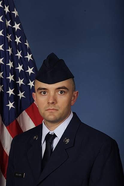 U.S. Air Force Airman Lucas Blevens