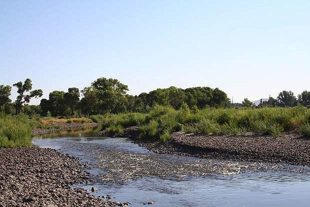 Dayton State Park is the site of a history lecture about the Carson River.