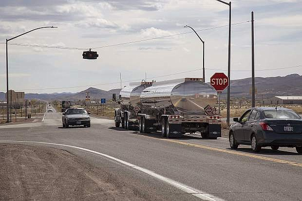 Road work at the U.S. 50 and Alternate U.S. 95 intersection in Silver Springs will cause minor traffic delays Tuesday and Wednesday.