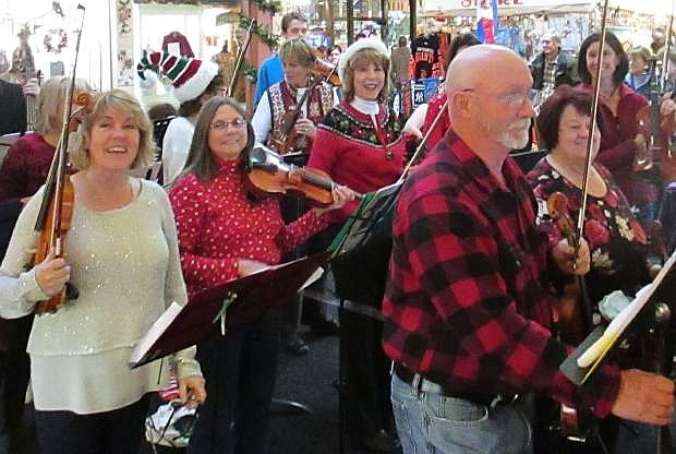 The Not Quite Ready for Carnegie Hall Players will be playing June 15 and 22 in Carson City.