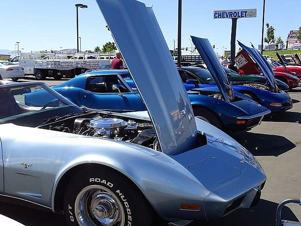 Dozens of Corvettes will be parked at Michael Hohl Motor Company in Carson City on July 9.