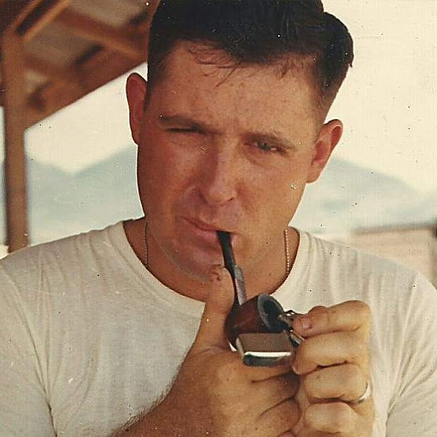 Patrick Goodrow in 1967 on his second tour of duty in Vietnam.