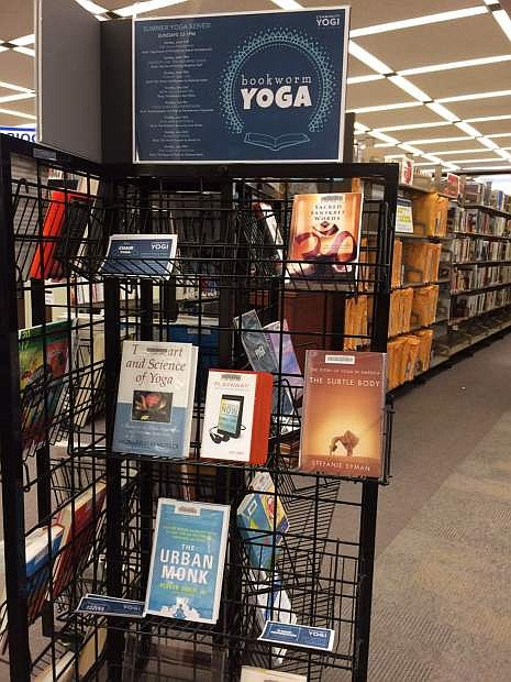 The Mindfulness Collection can be found at the Carson City Public Library, listing titles of all things yoga, donated by Community Yogi.