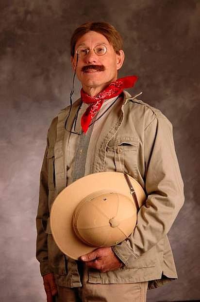 Doug Mishler as Theodore Roosevelt.
