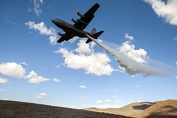 Nevada Air National Guard is deploying a C-130 aircraft to help firefighting efforts in central California.