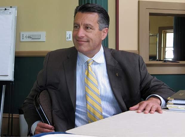 Nevada Gov. Brian Sandoval.