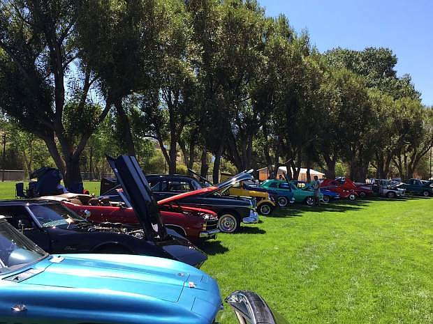 Boys Scouts Troop 33 is holding its fundraising car and truck show on Aug. 12 at Fuji Park in Carson City.
