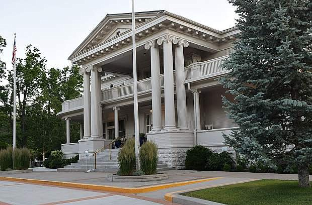 The Governor's Mansion on Mountain Street in Carson City is one of the homes shown on a walking tour of governors' residences in the capital city. Guy Clifton/Travel Nevada