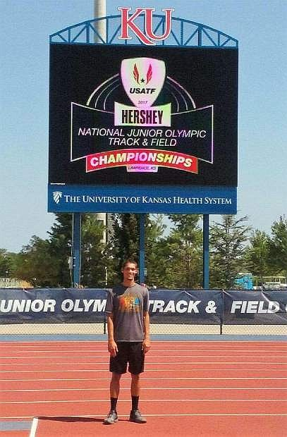 J.J. Ply at the National Championships.