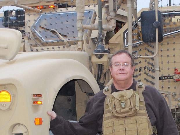 LVN Editor Steve Ranson annnounced his retirement on Wednesday. One of his passions as editor has been writing about the military and veterans. In 2011 and 2012, he embedded with the Nevada Army Guard in Afghanistan, and future plans call for him to begin a military/veterans' magazine.