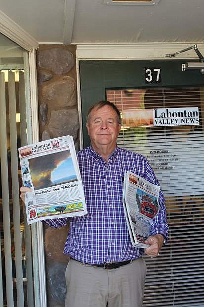 After 30 years with the Lahontan Valley News, editor Steve Ranson is retiring.