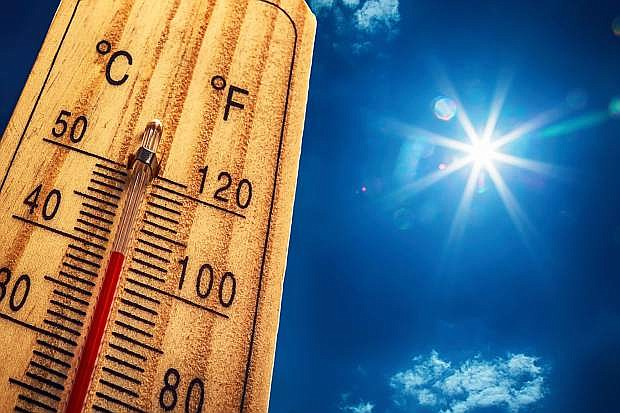 Carson City could reach 100 degrees by yhe middle of the week.