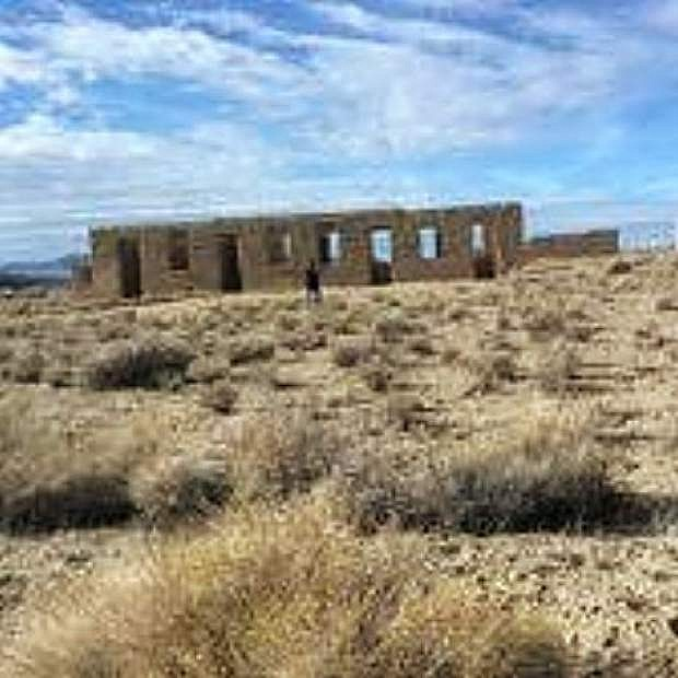 Construction of Fort Churchill, near Silver Springs, was completed in 1861. One hundred years later, it became a National Historic Landmark.