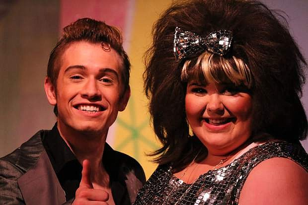 Carson City's Grant Davis performs at the Wild Horse Children's Theater Production of Hairspray in 2013.