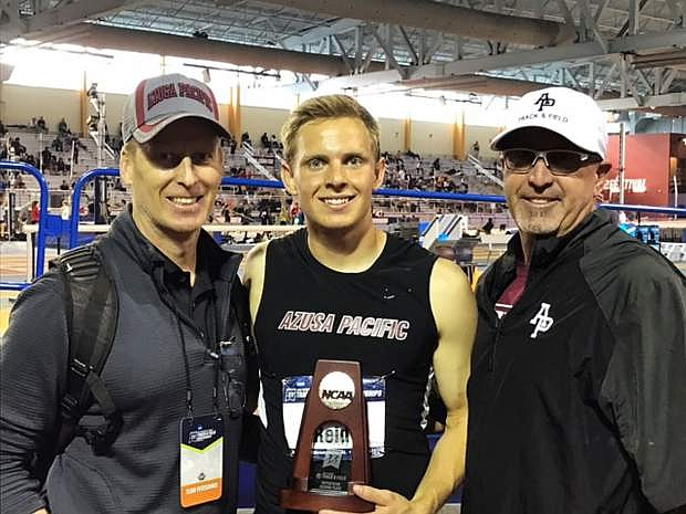 Corey Reid placed second in the NCAA DIvisiion II National Championships in the heptathlon.
