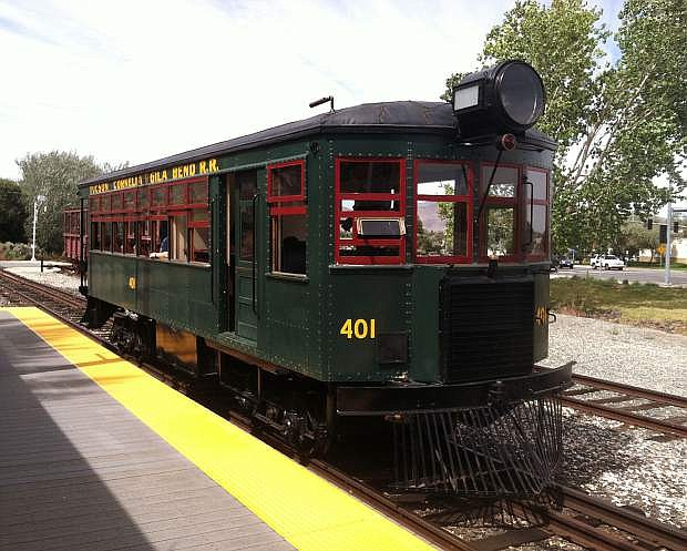 The Edwards Motor Car was built in 1926. It came to the Nevada State Railroad Museum in 1985 when the museum bought it from Short line Enterprises.