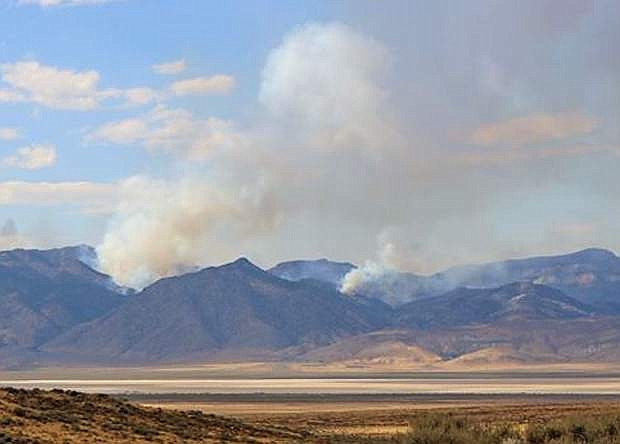 The 16,755-acre Tungsten Fire east of Fallon was contained earlier this week.