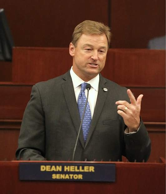 Dean Heller is on the hot spot when it comes to health care.