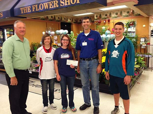 Save Mart has donated $1,500 to the Sierra In-Line Hockey League.
