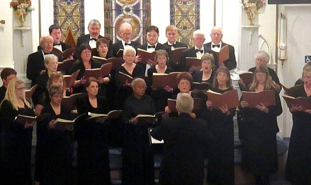 Carson Chamber Singers will perform its Mostly Mozart concert Oct. 24 and 28.