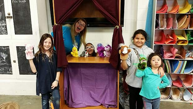 Puppet show from Lights On Afterschool 2016