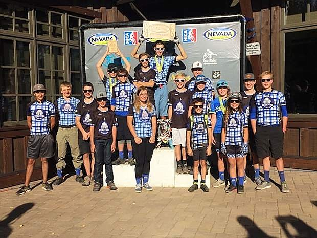 The Carson High mountain biking team had a third place finish for the season.