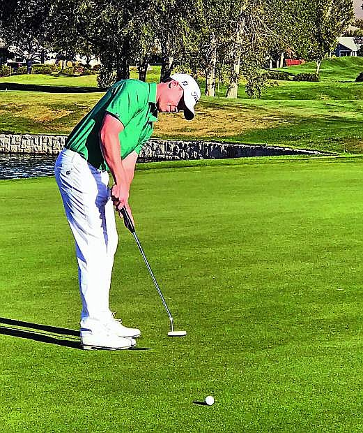Jordan Wright of Incline Village will play at Dayton Valley Golf Club in an effort to earn his PGA Tour qualifiying card.