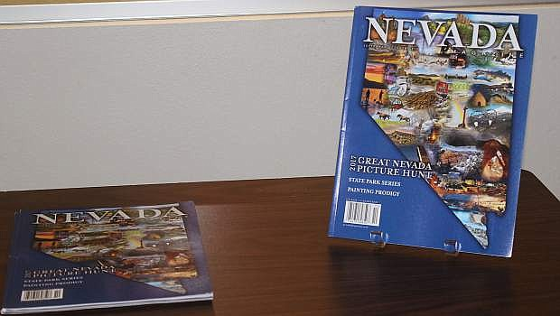 The last edition of Nevada Magazine featured information on the Great Nevada Picture Hunt.