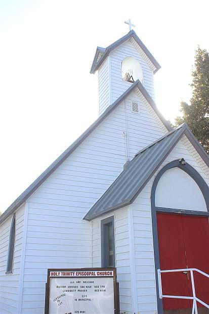 The bell tolled for each victim Tuesday morning at Holy Trinity Episcopal Church in Fallon.