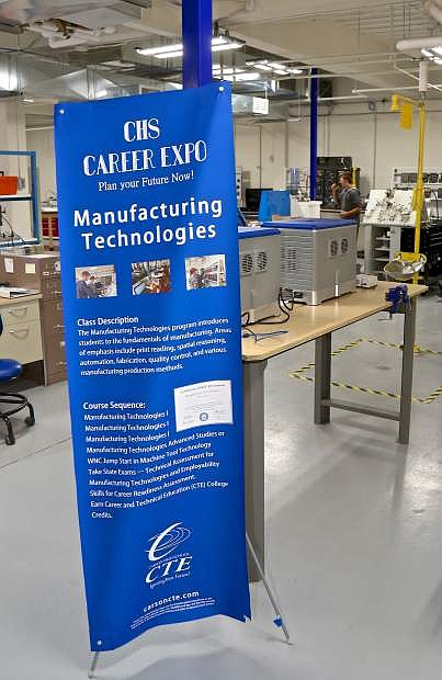 The new manufacturing lab is up and running at Carson High School.
