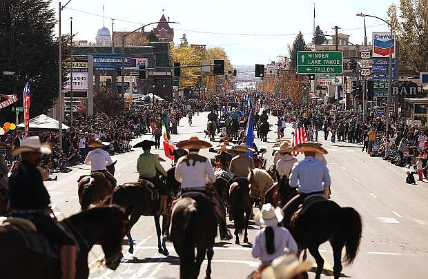 Nevada Day parade organizers are looking for additional volunteers to work as marshals for the annual parade. Photo by Cathleen Allison/Nevada Momentum