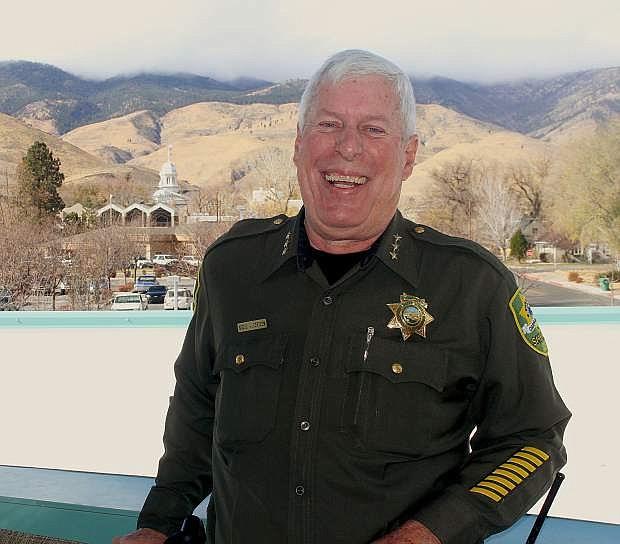 Portrait of Carson City Sheriff's Office Undersheriff Steve Albertsen